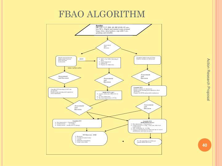 FBAO ALGORITHM