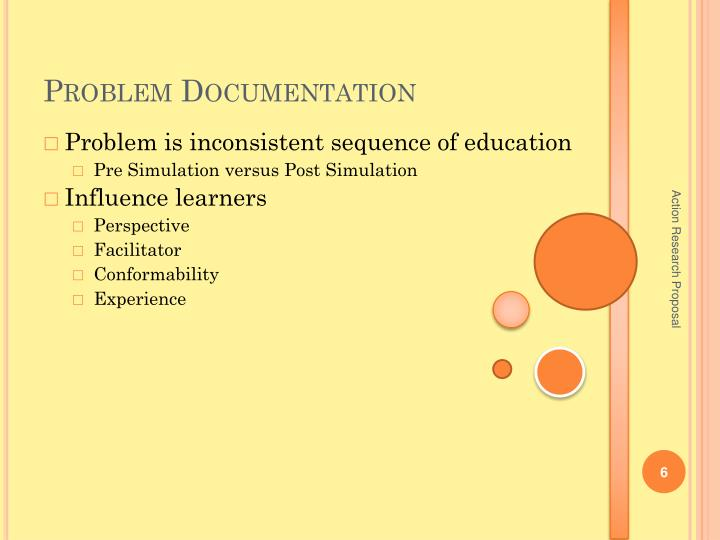 Problem Documentation