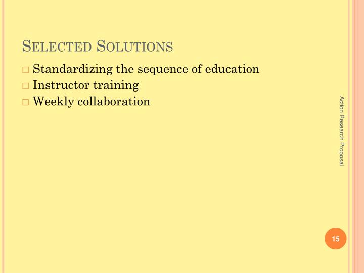 Selected Solutions
