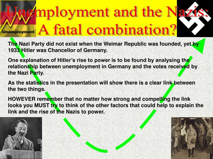 Unemployment and the Nazis: