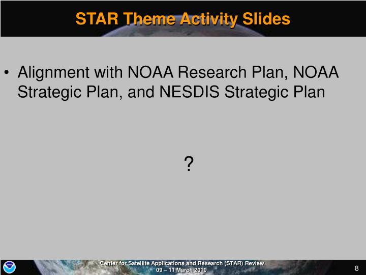STAR Theme Activity Slides