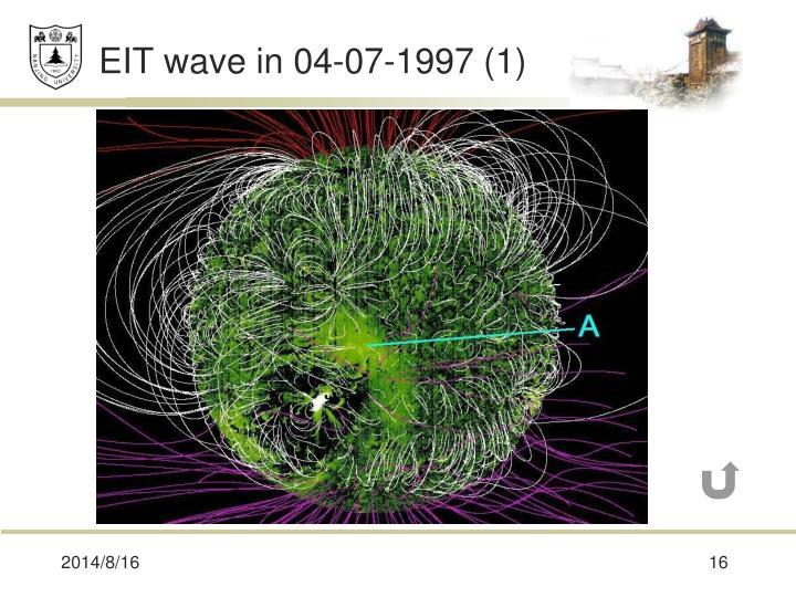 EIT wave in 04-07-1997 (1)