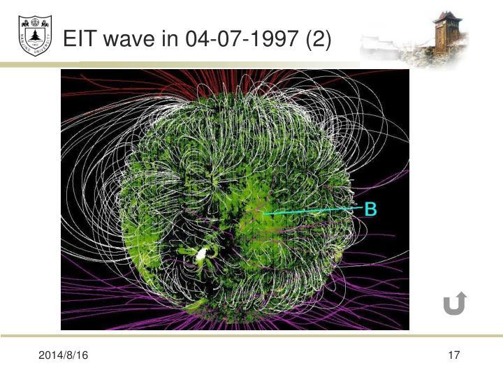 EIT wave in 04-07-1997 (2)