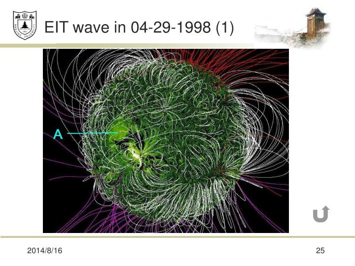 EIT wave in 04-29-1998 (1)