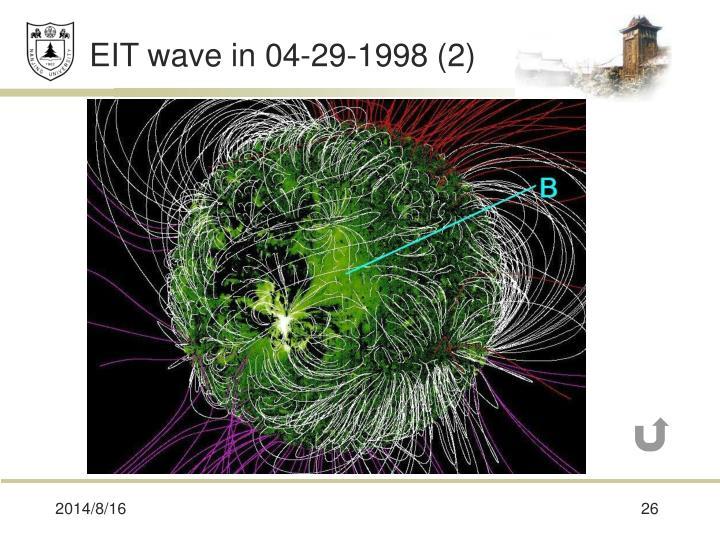 EIT wave in 04-29-1998 (2)