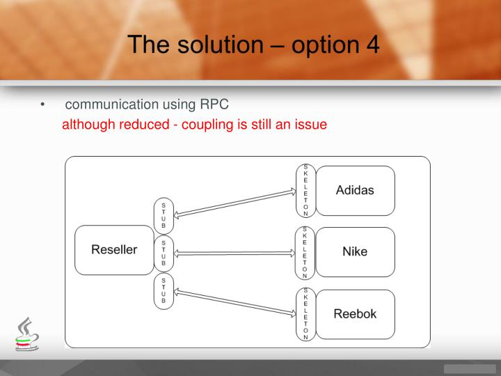 communication using RPC