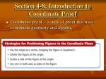 section 4 8 introduction to coordinate proof