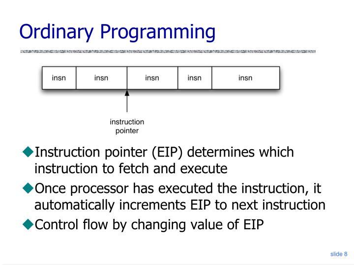 Ordinary Programming