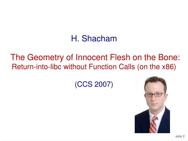 H. Shacham