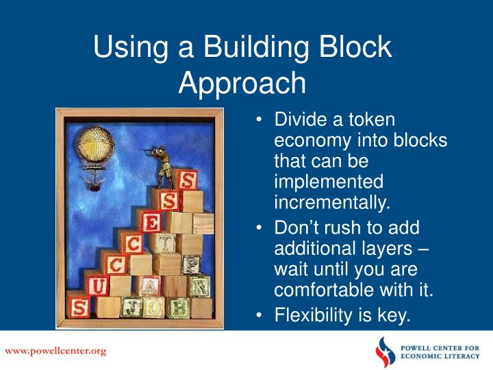 Using a Building Block Approach