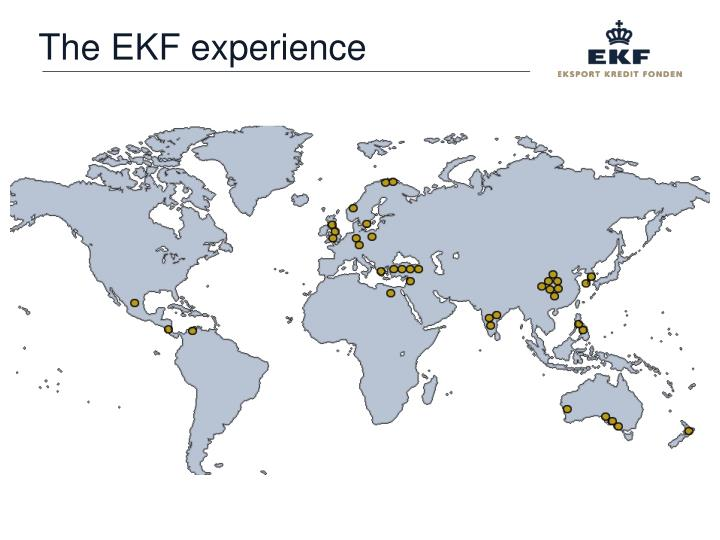 The EKF experience