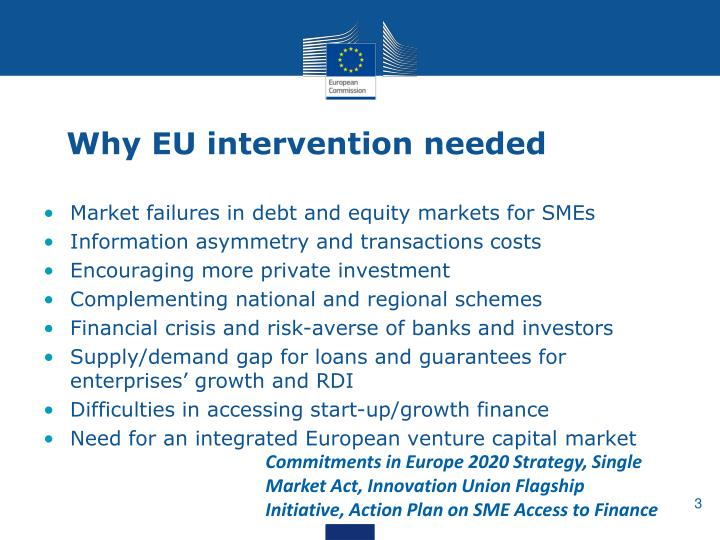 Why eu intervention needed