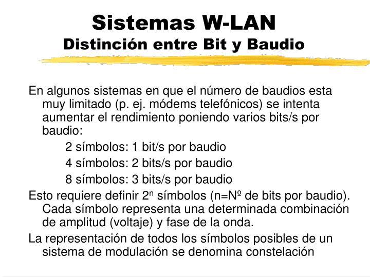 Sistemas W-LAN