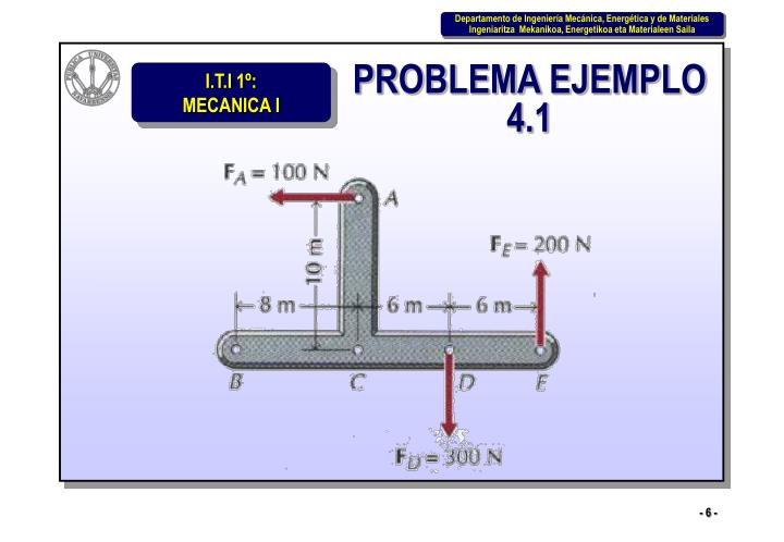 PROBLEMA EJEMPLO 4.1