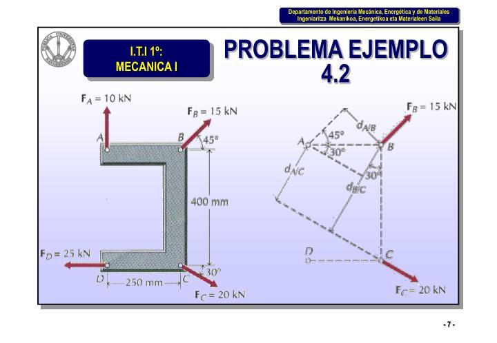 PROBLEMA EJEMPLO 4.2