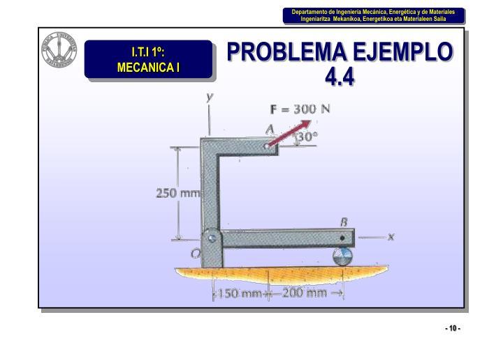 PROBLEMA EJEMPLO 4.4