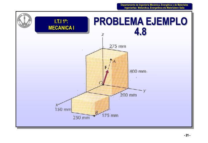 PROBLEMA EJEMPLO 4.8