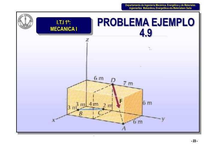 PROBLEMA EJEMPLO 4.9