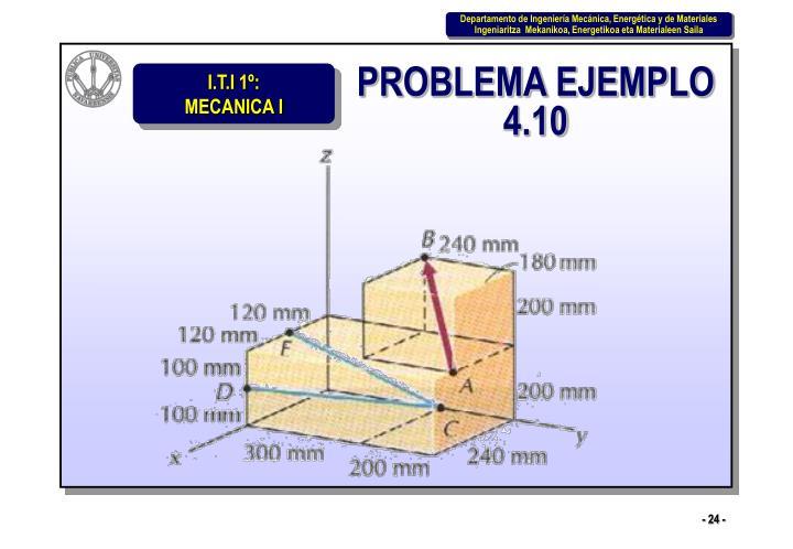 PROBLEMA EJEMPLO 4.10