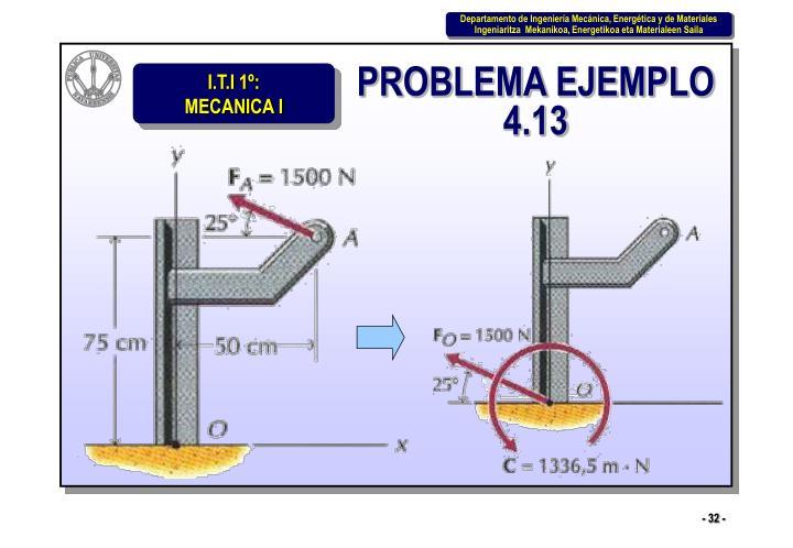 PROBLEMA EJEMPLO 4.13