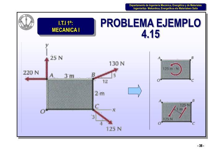 PROBLEMA EJEMPLO 4.15
