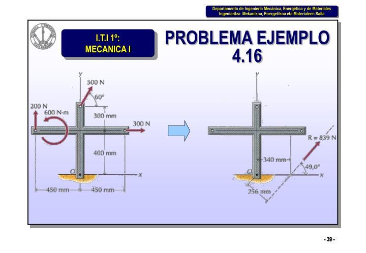 PROBLEMA EJEMPLO 4.16