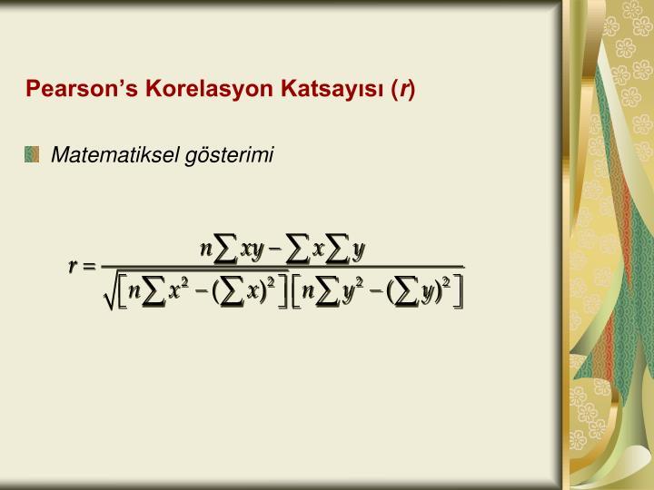 Pearson's