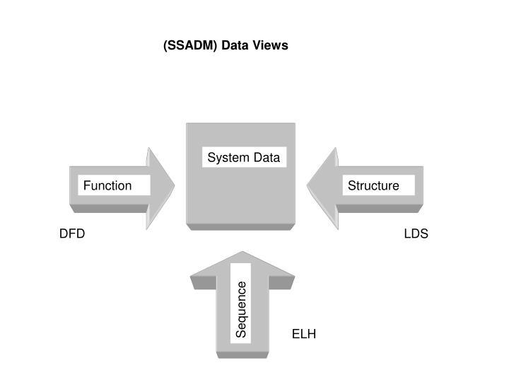 (SSADM) Data Views