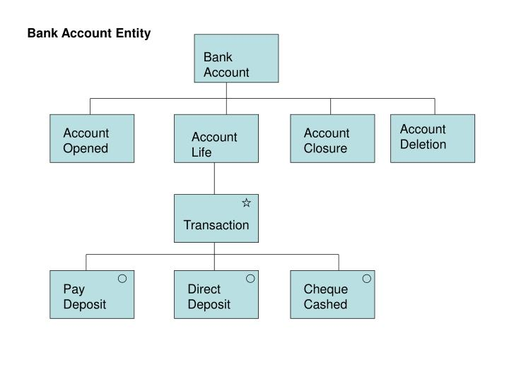 Bank Account Entity