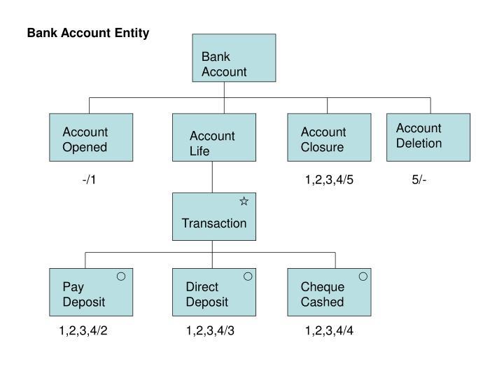 Bank Account Entity