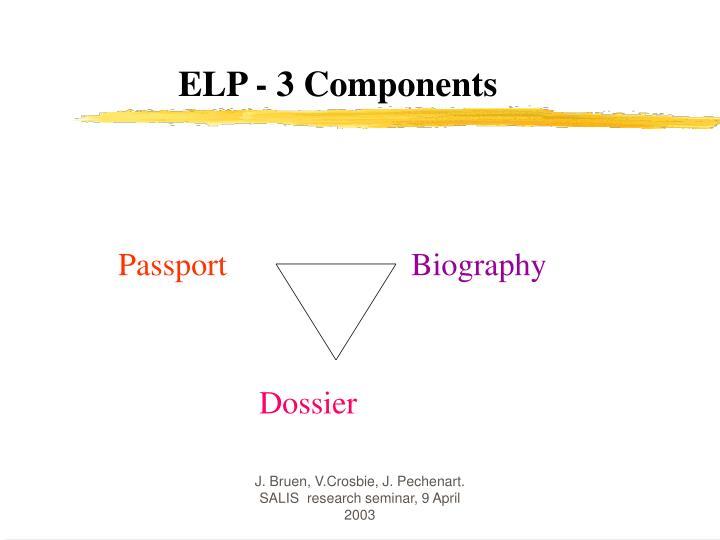 ELP - 3 Components