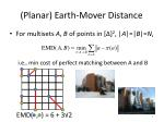 planar earth mover distance