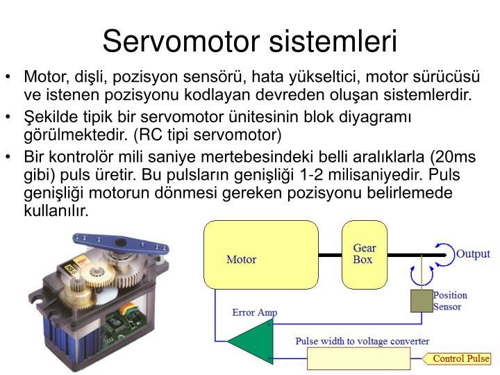 Servomotor sistemleri