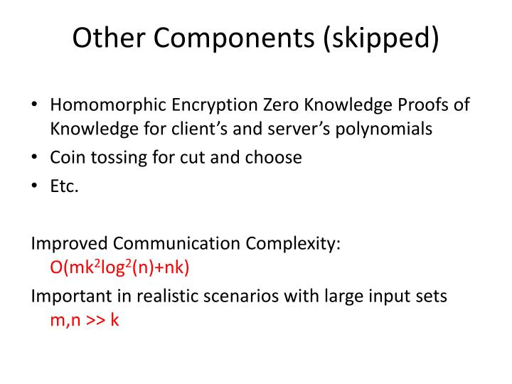 Homomorphic Encryption Zero Knowledge Proofs of Knowledge for client's and server's polynomials