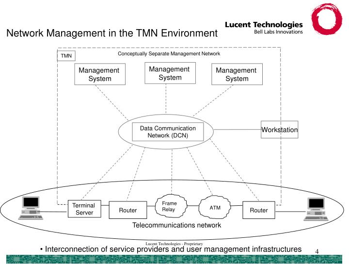 Network Management in the TMN Environment