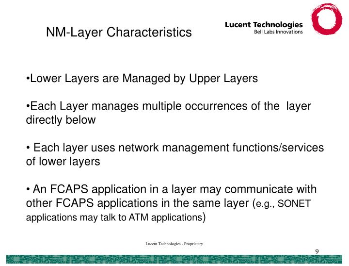 NM-Layer Characteristics