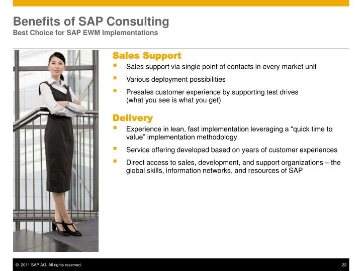 Benefits of SAP Consulting