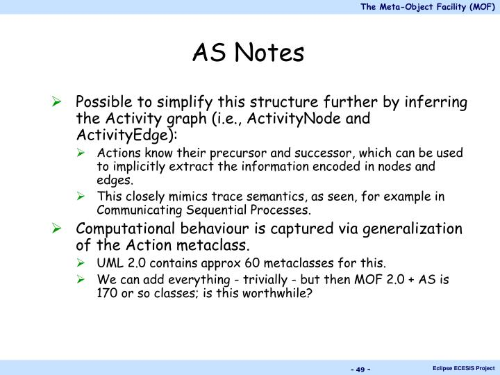 AS Notes