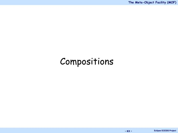 Compositions