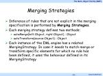 merging strategies