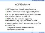 mof evolution