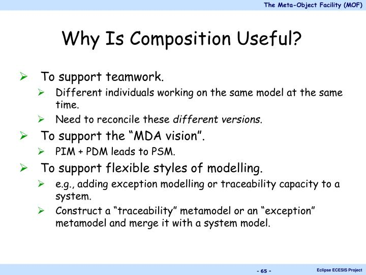 Why Is Composition Useful?