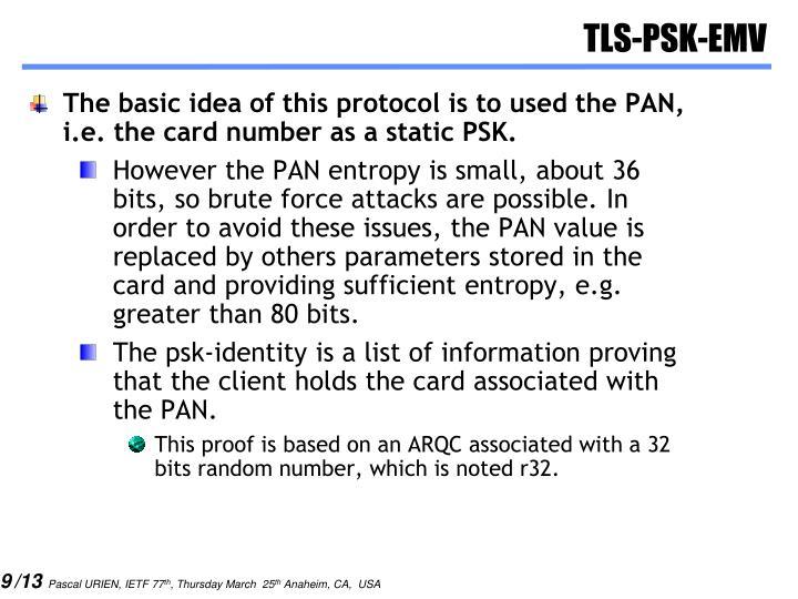 TLS-PSK-EMV