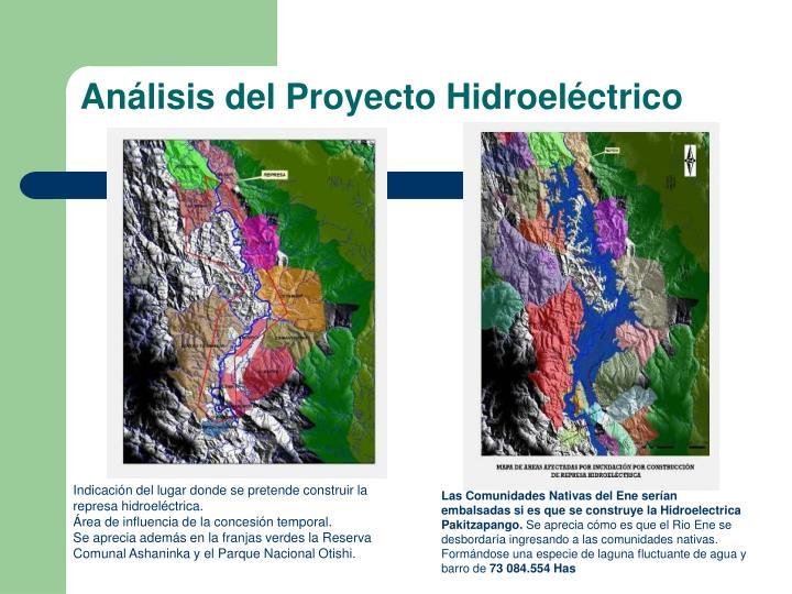 Análisis del Proyecto Hidroeléctrico