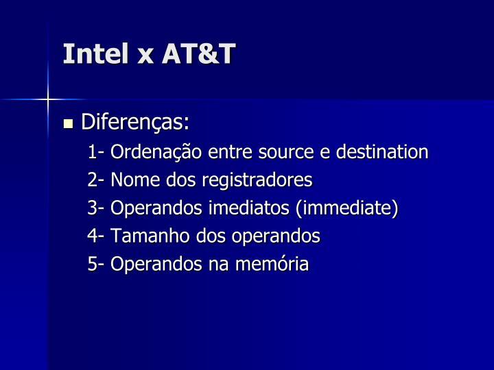 Intel x AT&T