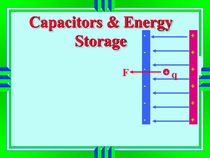 Capacitors & Energy Storage