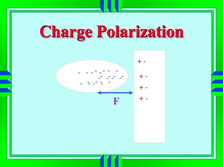 Charge Polarization
