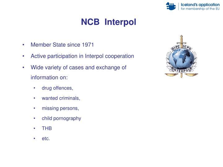 NCB  Interpol