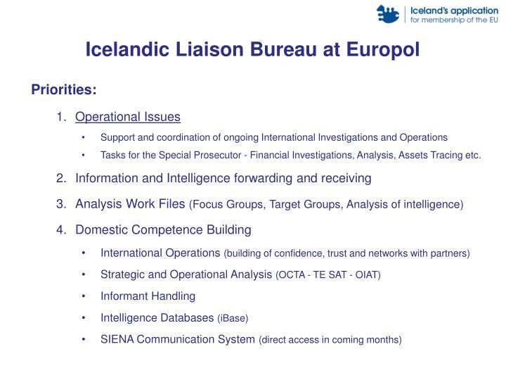 Icelandic Liaison Bureau at Europol