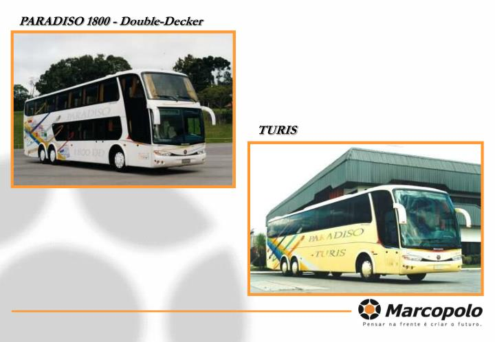 PARADISO 1800 - Double-Decker